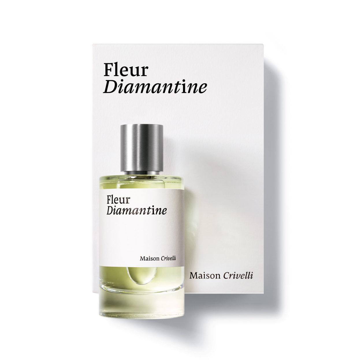 Fleur Diamantine 100ml bottle Bertrand Duchaufour jasmine neroli floral - Maison Crivelli