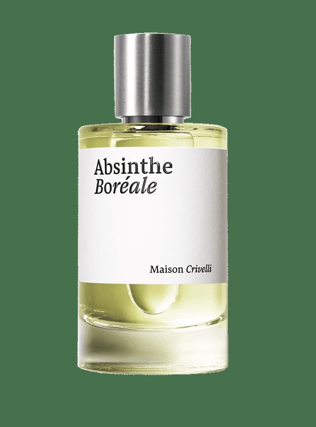 absinthe boréale 100ml bottle niche perfume nathalie feisthauer - Maison Crivelli