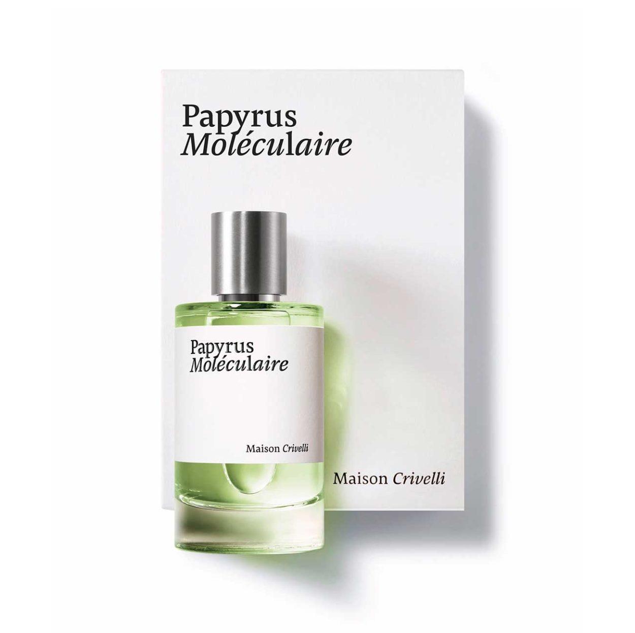 Papyrus Moléculaire 100ml niche perfume papyrus sandalwood tonka iris- maison crivelli