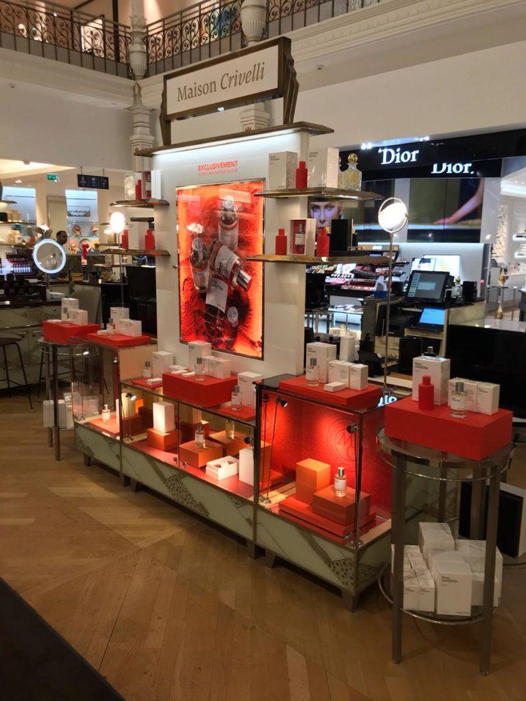 Le Bon Marché parfum niche perfume stores boutiques - Maison Crivelli