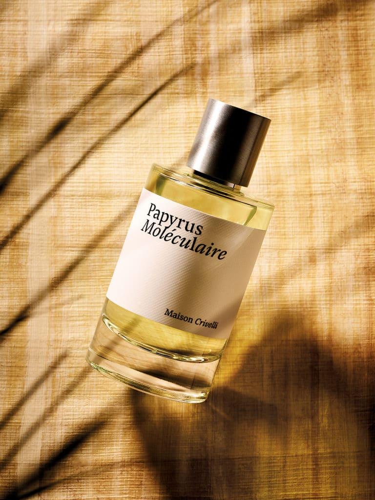 Papyrus Moléculaire new niche perfume sandalwood papyrus tobacco - Maison Crivelli