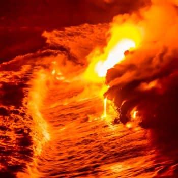Santal Volcanique 03 adrenaline en feu coulée lave - Maison Crivelli