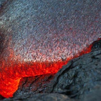 Santal Volcanique 09 coulée de lava mouvement - Maison Crivelli