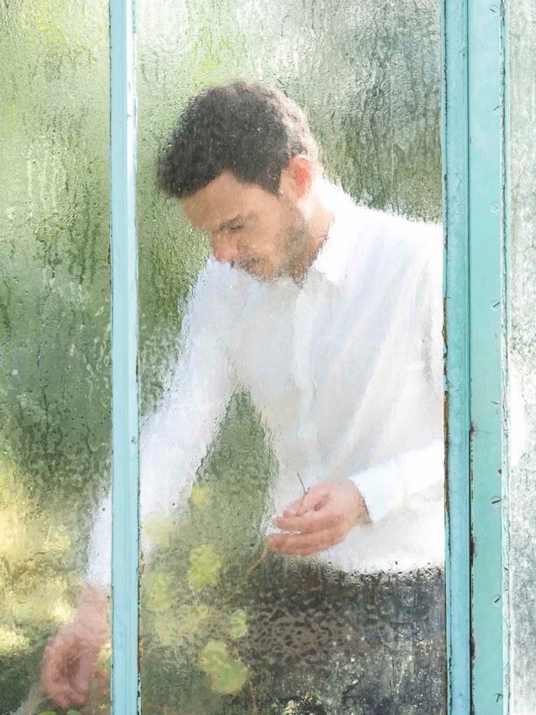Thibaud Crivelli perfumer founder portrait emotional botanist - Maison Crivelli