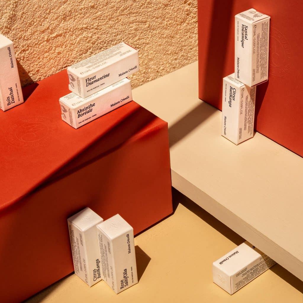 Maison Crivelli échantillons parfum