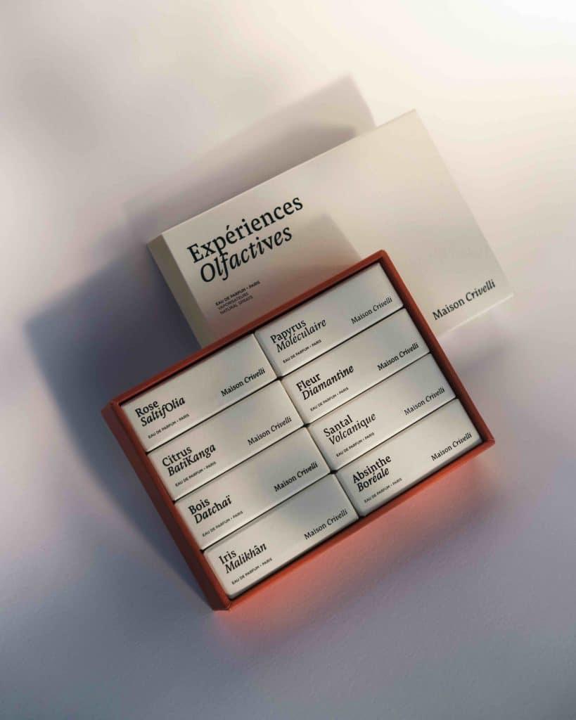 Perfume discovery set - Maison Crivelli