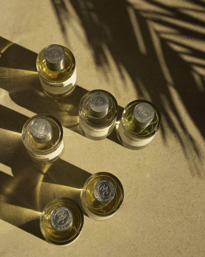 Perfume collection Maison Crivelli