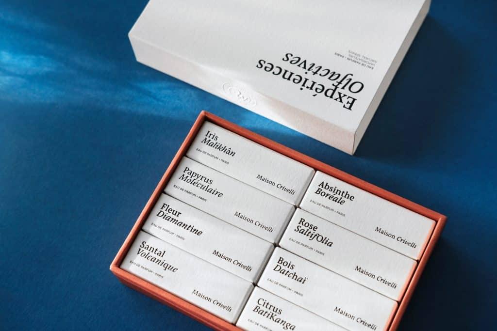 Maison Crivelli - coffret echantillon